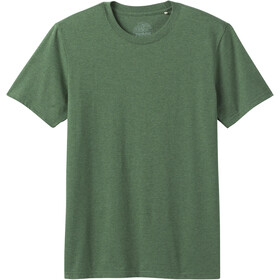 Prana Crew T-Shirt Men pineneedle heather